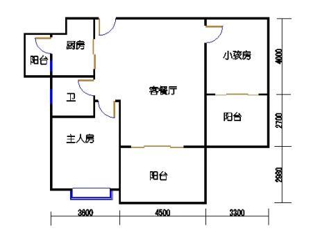 凤馨苑2期14号楼11层2号04单元