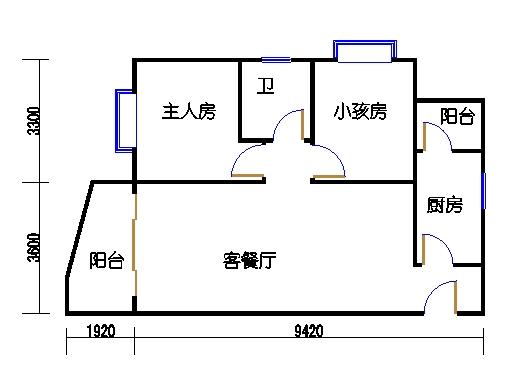 4单元D户型