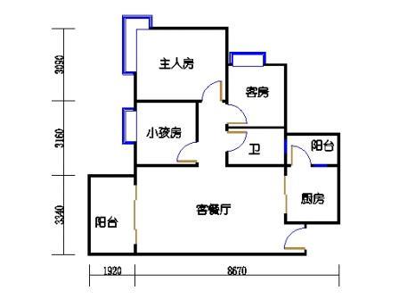 C6栋3层02单元