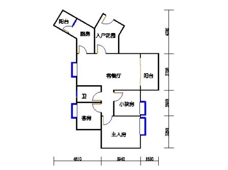 C6栋3层04单元