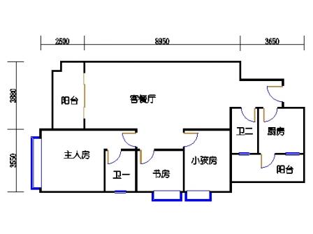 8栋3-9层01单元