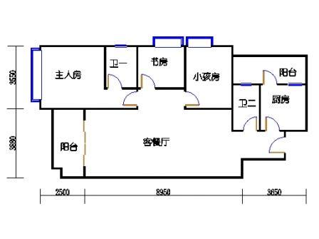 8栋3-9层02单元