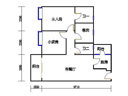 10栋3-9层02单元