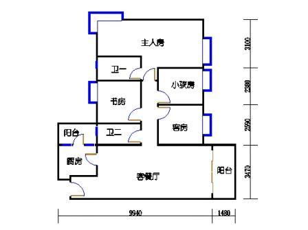 10栋3-9层03单元
