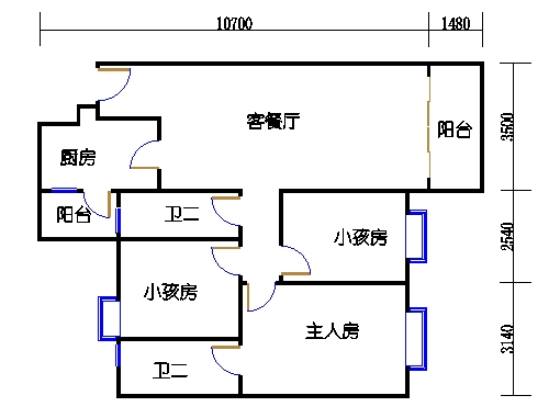 10栋3-9层04单元
