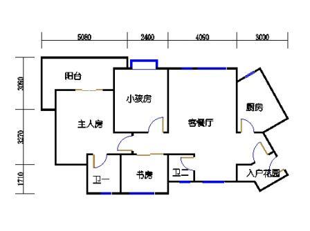 1#地块D-1型33楼5号