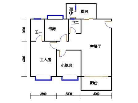 2栋4单元5楼17号