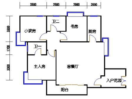 G山景公寓01单元
