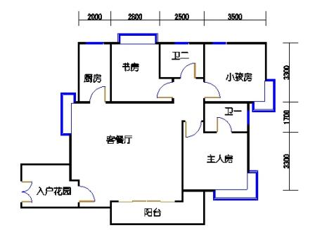 G山景公寓04单元