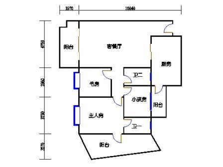 B1单元2-17层A