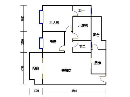 B1单元2-17层B