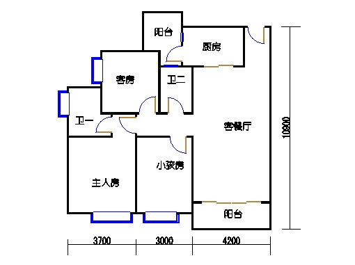 A10栋4-28层02单元