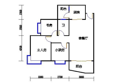 D8栋3、4、8-13,17-22层02单元