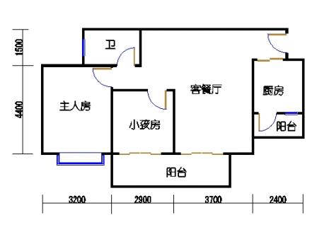 D8栋3、4、8-13,17-22层03单元