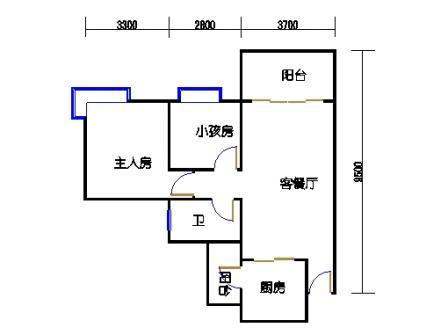 D8栋3、4、8-13,17-22层05单元