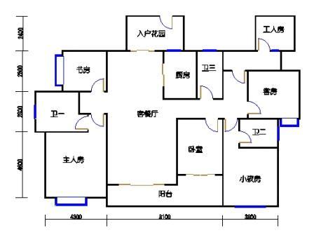B2栋江景五房