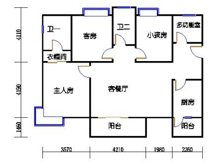 14号楼F户型