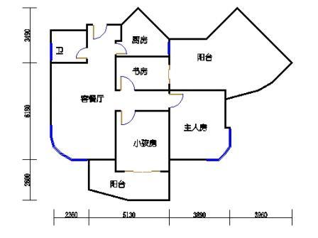 #3楼B2型