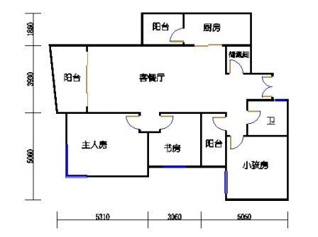 B-3型8栋2号房