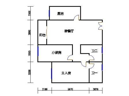 C4栋1,2,3,4,5,6号楼07户型