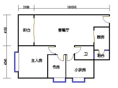 G栋3-10层01单元