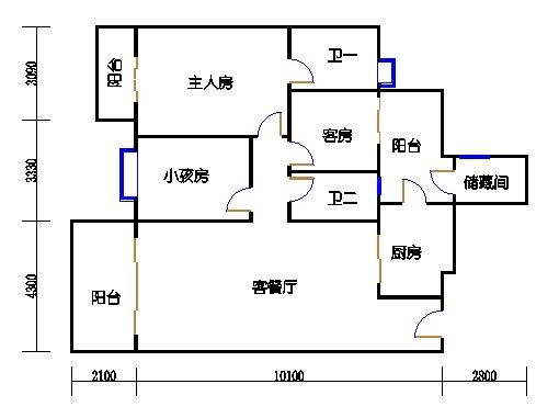 G栋3-10层02单元