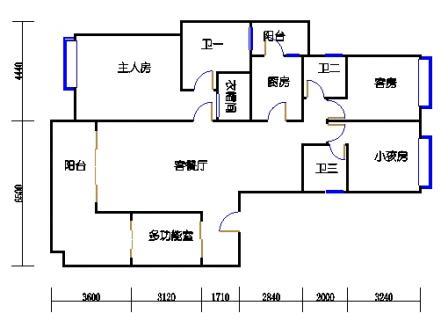G1栋02、G4栋01(6-11层)单元