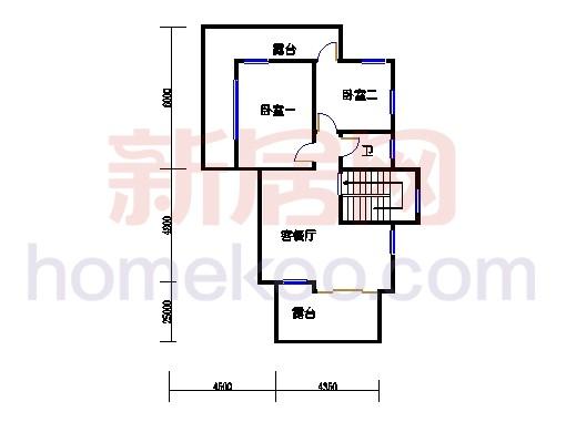 香堤半岛E12二层