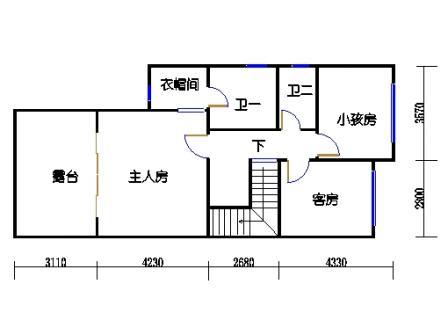 B1-1单元二层