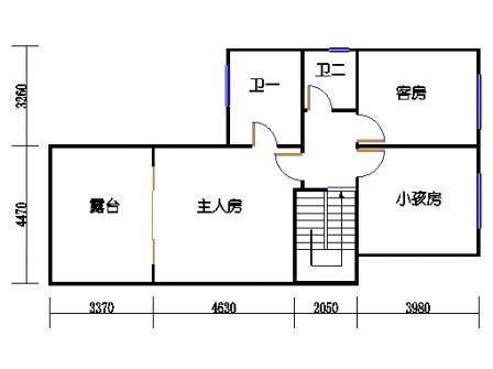 B1-2单元二层