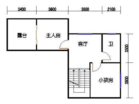 B3-1单元二层