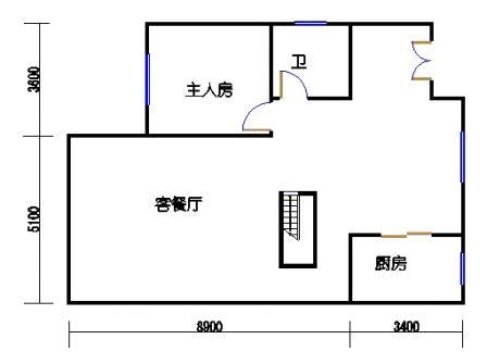 B3-2单元一层