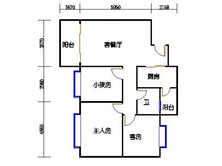 E1栋2-17层A单元