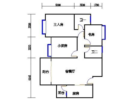 E2栋2-17层B单元