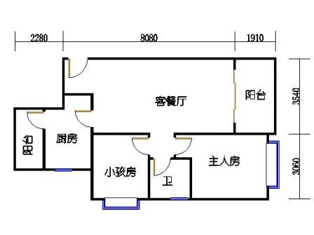 E2栋2-17层D单元