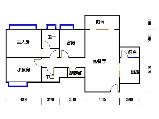 15幢3-14层04单元