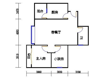 15幢3-14层06单元