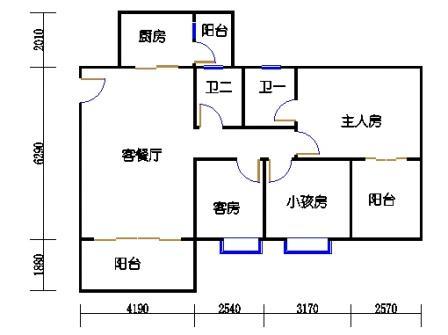 2梯二层03单元