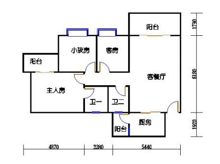 1梯二层01单元