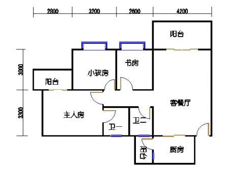 3梯二层01单元