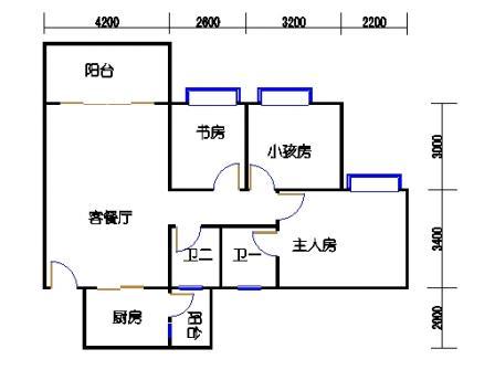 3梯二层02单元