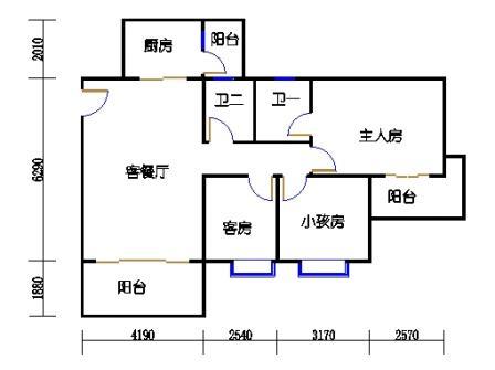 4梯二层03单元