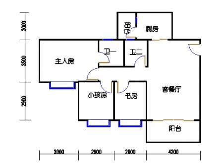 4梯3-10层04单元