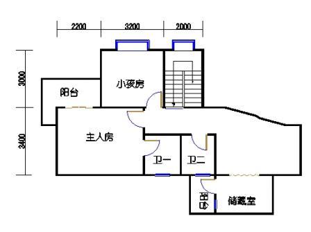 3梯11层01单元二层
