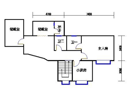 3梯11层03单元二层
