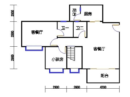 3梯11层04单元一层