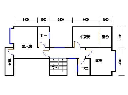 A3单元二层