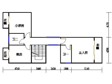 A11'单元二层