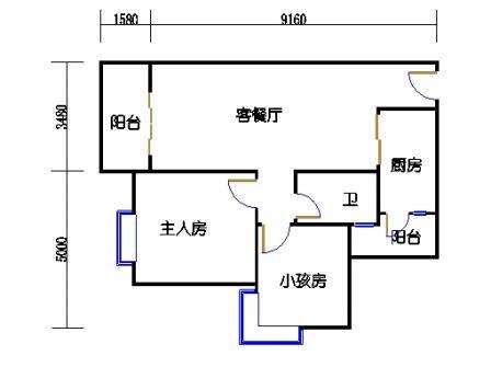 A5栋5-27层04单元