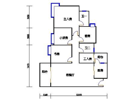A10栋5-27层04单元